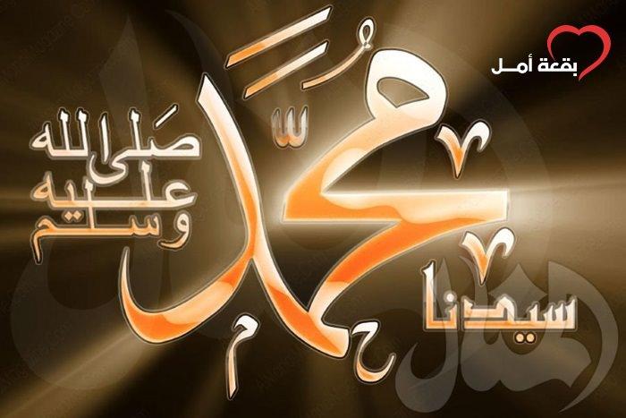 محبة النبي الصادقة لرسول الله صلى الله عليه وسلم